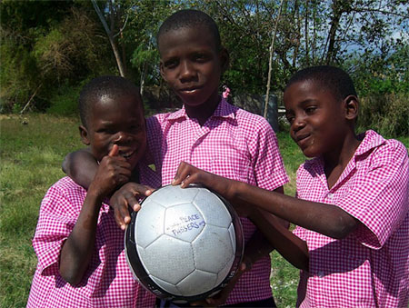 Cope in Haiti